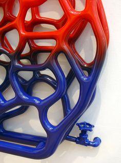 BLUSH – Radiator, Design and thermochromic paint   Ufunk.net