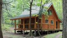 simple cabin | In Search of Perfect Light...: A Cabin in the Woods