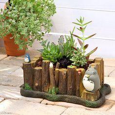 Stadio Ghibli Miyazaki Hayao My Neighbor Totoro Gardening Planter from Japan New