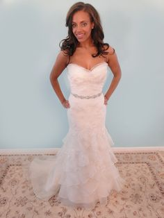 """Find this Watters Bridal gown at an amazing price at Forever Amour Bridal's """"Find the One"""" Sample Sale Sept.18-22 Call to make an appointment 212-486-2900"""