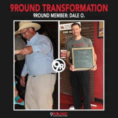 Today, we have a #transformation from Dale at 9Round Billings, MT. Dale has made amazing changes to his body and we're so excited to share his success! If you're ready to change your life, head over to http://9round.com/workout#free-workout. We're opening soon!
