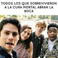 :o... un momento no soy de ahí :'v ja q sadness Maze Runner Thomas, Newt Maze Runner, Maze Runer, Something Just Like This, Forever Book, The Scorch Trials, Crush Memes, Thomas Brodie Sangster, Dylan O'brien