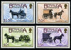 Bermuda Transport Stamps Postage Stamps, Comic Books, Stamps, Cartoons, Comics, Comic Book, Graphic Novels, Comic