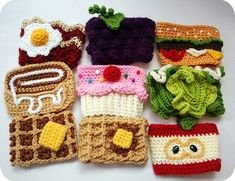 Twinkie Chan is best known for her food-inspired crochet projects. She makes scarfs, pouches and a lot of other products in shapes of food. When she isn't busy crocheting, she eats yucky stuff.