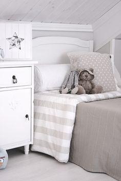 El gris en la habitación infantil