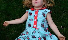 An owl Ileana, This is a straight up Ileana Dress, with a circle skirt. My daughter chose the fabric herself and couldn't be more proud :) Find out more athttps...  #contest2015 #ileanadress #plain&simple
