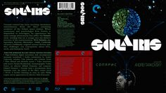 Solaris Criterion Collection Blu-ray Custom Cover