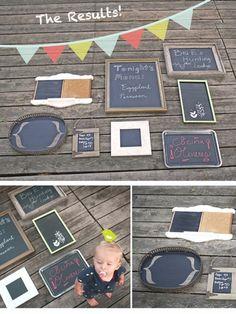 chalkboards diy! #diy