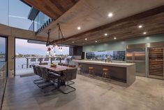 Custom Home Design, Luxury Home Design Brisbane, Chris Clout Design. Luxury home design by Chris Clout is a coastal contemporary inndustrial home design.
