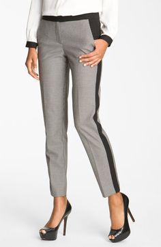 racing stripe pants - vince camuto at nordstrom