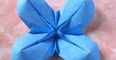 origami, Crease Pattern, foto, istruzioni, fiore bombato 2, curved flower 2, quattro petali, corolla, Francesco Guarnieri