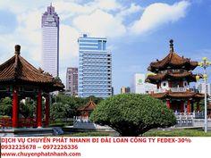 Dịch vụ chuyển phát nhanh đi Đài Loan | Fedex Giá - 30% | DHL
