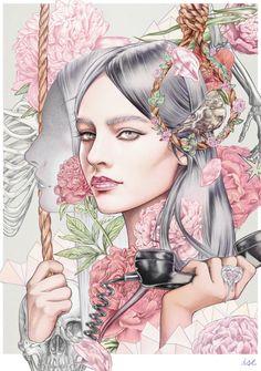 "Procrastination Vs. Motivation — Illustrator & Artist: Ise Ananphada "":Sweet..."
