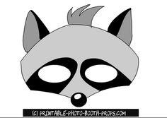Free Printable Raccoon Photo Booth Prop