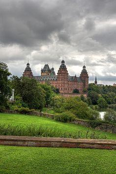 Schloss Johannisburg, Aschaffenburg, Germany