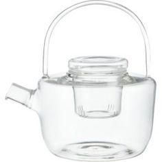 CB2 - June Catalog - Betty Glass Teapot