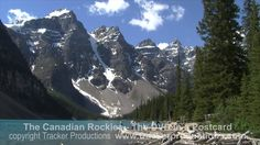 Banff National Park. The Canadian Rockies. The DVD in a Postcard.  Part 1