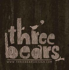 Three Bears Design Logo