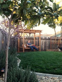 the spence adventure | Pin-spired backyard swing project