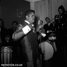 Prince Buster 1964 with Rico Rodriguez on trombone