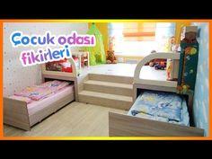 Çocuk Odası İçin Dekorasyon ve Tasarruf Fikirleri - YouTube