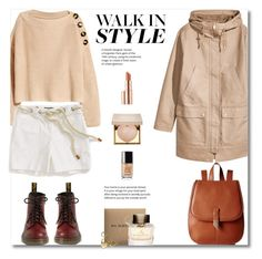 """""""Walk in style - khaki  + cargo"""" by gifra ❤ liked on Polyvore featuring Foley + Corinna, Tommy Hilfiger, Estée Lauder, Stila, Chanel and Burberry"""