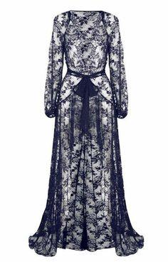 Long vintage dress, love it