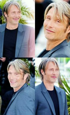 Blonde Smiley Mads.