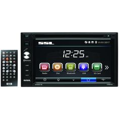 "New Arrival: Sound Storm Laboratories 6.2"" Double-din In-dash Touchscreen Multimedia Receiver With Bluetooth - SEE SITE FOR DETAILS"