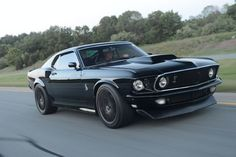 1969 Mustang Body on a 2014 GT500 Chassis? Yes Please!