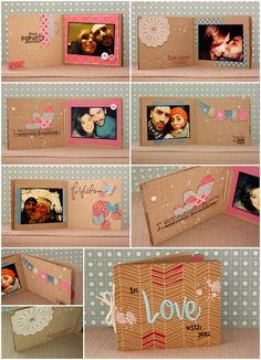 dire fare scrappare: In love with you Birthday Scrapbook, Baby Scrapbook, Scrapbook Albums, Scrapbook Templates, Scrapbook Paper Crafts, Happy Birthday Cards Handmade, Birthday Gifts For Boyfriend Diy, Birthday Card Drawing, Mini Albums Scrap