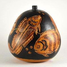 Fish Gourd Box from Peru | Handcrafted Box, Fair Trade | Unique Gift – Dogwood Hill Gifts