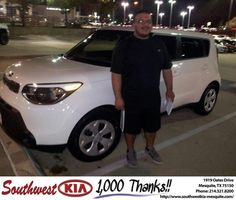 https://flic.kr/p/A111Fb | #HappyBirthday to Joseph from CHRISTOPHER MEREGINI at Southwest Kia Mesquite! | deliverymaxx.com/DealerReviews.aspx?DealerCode=VNDX