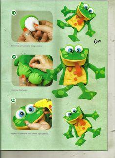 Te encantan las manualidades? Este es el lugar perfecto para ti, hay muchisimas revistas de cualquier tipo gratis Glove Puppets, Felt Puppets, Puppets For Kids, Crafts To Do, Crafts For Kids, Animal Hand Puppets, Puppet Patterns, Puppet Crafts, Gifted Kids