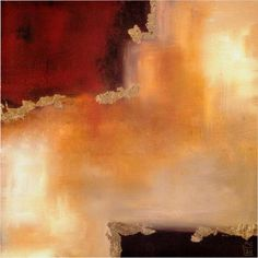 laurie maitland crimson accent ii paintings