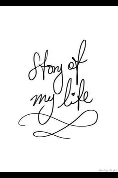 Oh my gosh! I love Story of my Life !