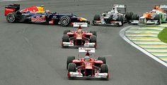 Vettel, tricampeón mundial de F-1. Alonso, a las puertas del milagro.