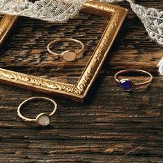 リング(K10ストーンリング)/アガット(agete) / stone rings on ShopStyle
