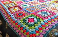 granny square blanket - Google Search