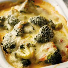 Broccoli mornay