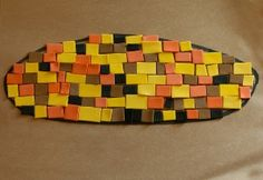 Indian Corn Mosaic Craft from No Time for Flashcards - - Pinned by #PediaStaff.  Visit http://ht.ly/63sNt for all our pediatric therapy pins