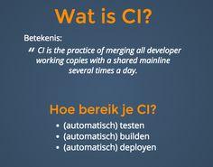 Continuous Integration slides van Bas van der Heijden op de Drupaljam 2015, zo doen we dat bij Wunderkraut http://basvdheijden.com/ci