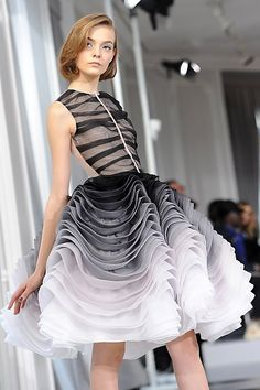 Christian Dior Spring 2012 Couture - had to pin another shot of this dress.