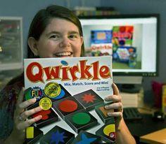 Meet the inventor of Qwirkle! Susan McKinley Ross.