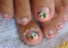 Pedicure Nail Art, Cute Animal Photos, Toe Nail Designs, Toe Nails, Lily, Toenails, Perfect Nails, Designed Nails, Work Nails
