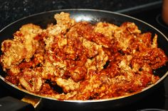 Asian BBQ Recipe - sweet chilli sauce, soy sauce, oyster sauce, a little bit of katsup, pepper & sugar