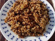 Houbová pohanka - pohankový kuba Christmas Cookies, Quinoa, Oatmeal, Food And Drink, Treats, Breakfast, Recipes, Cuba, Xmas Cookies