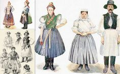 Palóc népviselet, Ipolyság - Hungary Hungarian Embroidery, Folk Dance, Junk Journal, Journal Ideas, Folklore, Wardrobes, Traditional Outfits, Hungary, Ethnic