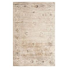 Anchor your living room seating group or define space in the den with this artfully loomed rug, featuring a Persian-inspired motif for timeless appeal.