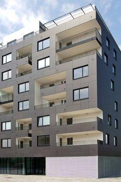 arch: Delugan Meissl Associates. EQUITONE facade panels. equitone.com